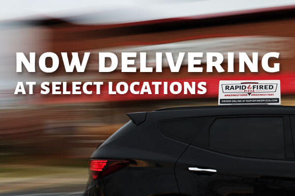 Now delivering in select locations!
