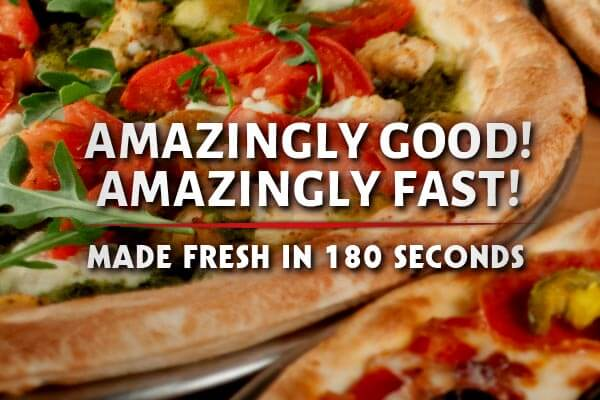 Rapid Fired Pizza - Amazingly Fast - Amazingly Good