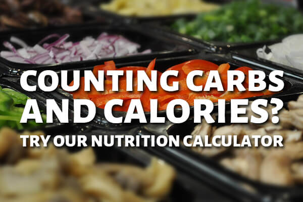 Try our new Nutrition Calculator!