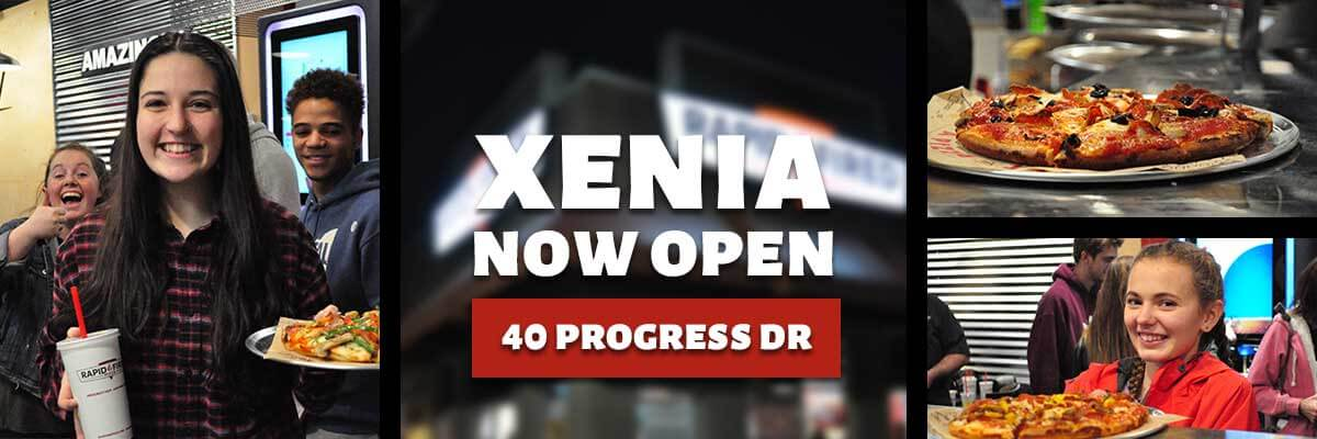 Now Open in Xenia